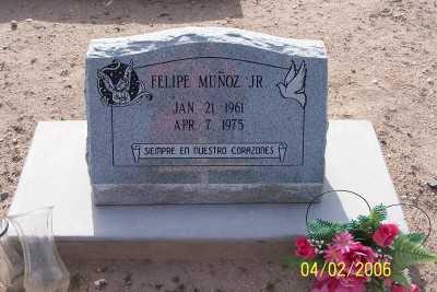 MUNOZ, FELIPE, JR. - Gila County, Arizona   FELIPE, JR. MUNOZ - Arizona Gravestone Photos