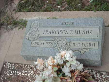 MUNOZ, FRANCISCA - Gila County, Arizona   FRANCISCA MUNOZ - Arizona Gravestone Photos