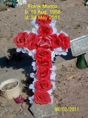 MUNOZ, FRANK - Gila County, Arizona | FRANK MUNOZ - Arizona Gravestone Photos