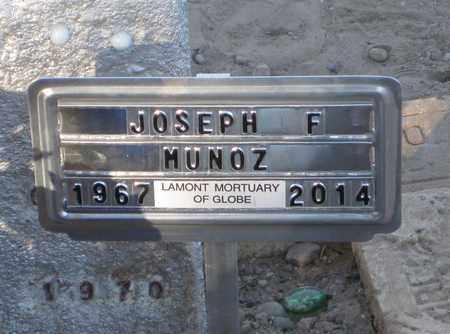 "MUNOZ, JOSEPH R. ""JOE"" - Gila County, Arizona | JOSEPH R. ""JOE"" MUNOZ - Arizona Gravestone Photos"