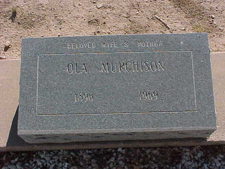 MURCHISON, OLA - Gila County, Arizona | OLA MURCHISON - Arizona Gravestone Photos