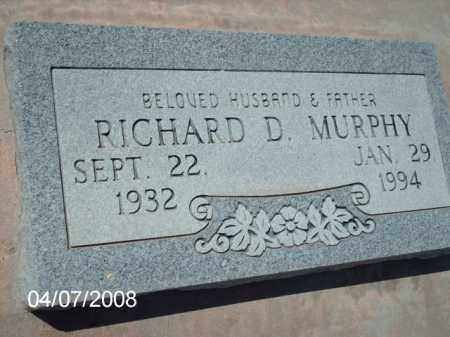 MURPHY, RICHARD D. - Gila County, Arizona | RICHARD D. MURPHY - Arizona Gravestone Photos