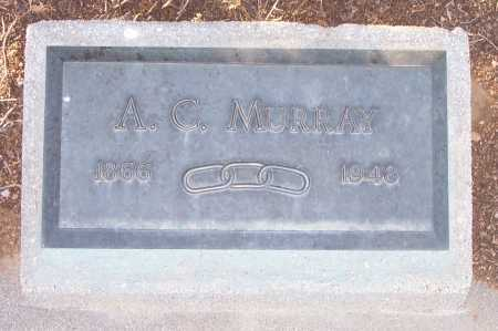 MURRAY, A.C. - Gila County, Arizona   A.C. MURRAY - Arizona Gravestone Photos
