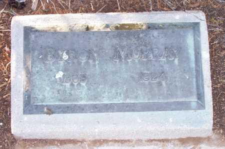 MURRAY, BYRON - Gila County, Arizona | BYRON MURRAY - Arizona Gravestone Photos