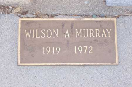 MURRAY, WILSON A. - Gila County, Arizona | WILSON A. MURRAY - Arizona Gravestone Photos
