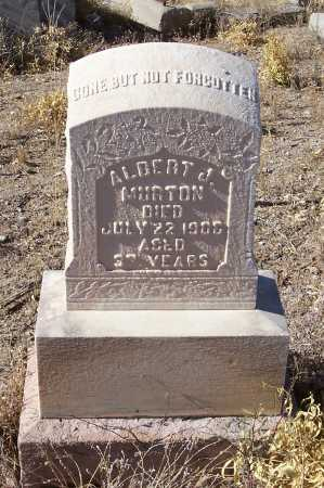 MURTON, ALBERT J. - Gila County, Arizona | ALBERT J. MURTON - Arizona Gravestone Photos