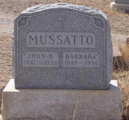 MUSATTO, BARBARA - Gila County, Arizona | BARBARA MUSATTO - Arizona Gravestone Photos