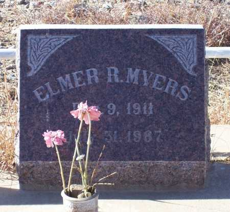 MYERS, ELMER R. - Gila County, Arizona | ELMER R. MYERS - Arizona Gravestone Photos