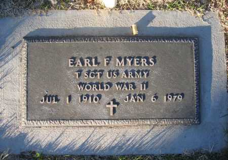 MYERS, EARL - Gila County, Arizona | EARL MYERS - Arizona Gravestone Photos