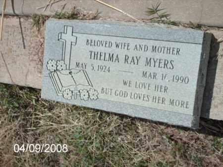 MYERS, THELMA RAY - Gila County, Arizona | THELMA RAY MYERS - Arizona Gravestone Photos