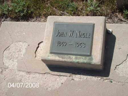 NAGLE, JOHN W. - Gila County, Arizona   JOHN W. NAGLE - Arizona Gravestone Photos