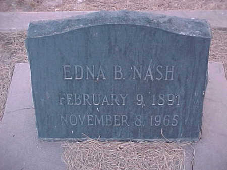 NASH, EDNA - Gila County, Arizona | EDNA NASH - Arizona Gravestone Photos