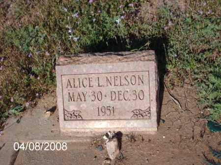 NELSON, ALICE - Gila County, Arizona | ALICE NELSON - Arizona Gravestone Photos