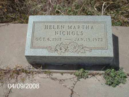 NICHOLS, HELEN MARTHA - Gila County, Arizona | HELEN MARTHA NICHOLS - Arizona Gravestone Photos
