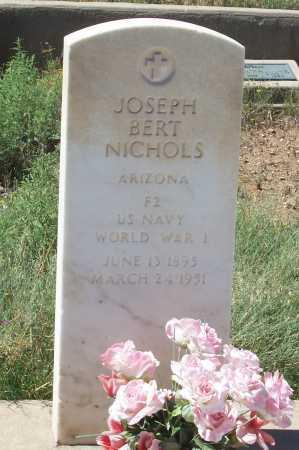 NICHOLS, JOSEPH BERT - Gila County, Arizona | JOSEPH BERT NICHOLS - Arizona Gravestone Photos