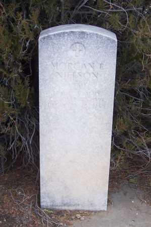 NIELSON, MORGAN E. - Gila County, Arizona   MORGAN E. NIELSON - Arizona Gravestone Photos