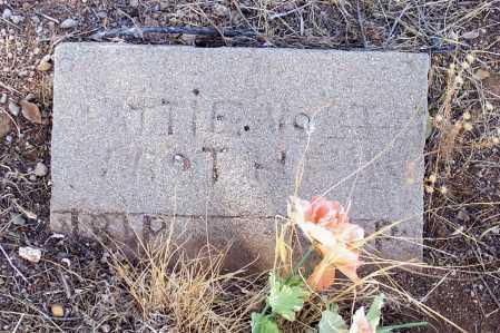 NORTH, MATTIE - Gila County, Arizona | MATTIE NORTH - Arizona Gravestone Photos