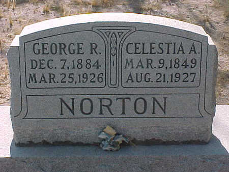 NORTON, GEORGE  R. - Gila County, Arizona   GEORGE  R. NORTON - Arizona Gravestone Photos