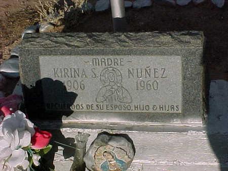 NUNEZ, KIRINA  S. - Gila County, Arizona | KIRINA  S. NUNEZ - Arizona Gravestone Photos