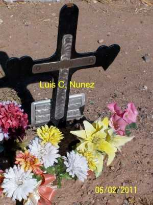 NUNEZ, LUIS  C. - Gila County, Arizona   LUIS  C. NUNEZ - Arizona Gravestone Photos