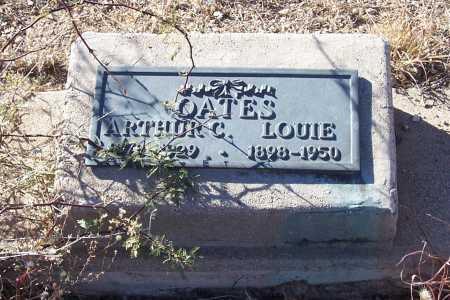 OATES, LOUIE - Gila County, Arizona   LOUIE OATES - Arizona Gravestone Photos