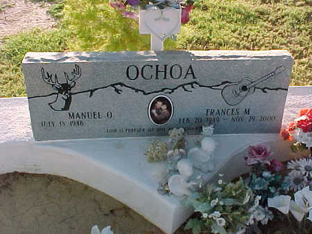OCHOA, MANUEL  O. - Gila County, Arizona | MANUEL  O. OCHOA - Arizona Gravestone Photos