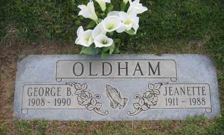 OLDHAM, JEANETTE - Gila County, Arizona | JEANETTE OLDHAM - Arizona Gravestone Photos