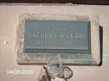 O'LEARY, ARTHUR  V. - Gila County, Arizona | ARTHUR  V. O'LEARY - Arizona Gravestone Photos