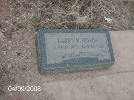 OLIVER, HARRY M. - Gila County, Arizona | HARRY M. OLIVER - Arizona Gravestone Photos