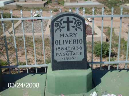 OLIVERIO, MARY - Gila County, Arizona | MARY OLIVERIO - Arizona Gravestone Photos