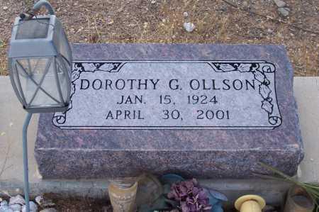 OLLSON, DOROTHY G. - Gila County, Arizona | DOROTHY G. OLLSON - Arizona Gravestone Photos