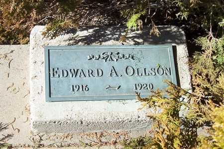 OLLSON, EDWARD A. - Gila County, Arizona   EDWARD A. OLLSON - Arizona Gravestone Photos