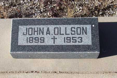 OLLSON, JOHN A. - Gila County, Arizona | JOHN A. OLLSON - Arizona Gravestone Photos