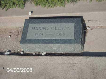 OLLSON, MAXINE - Gila County, Arizona   MAXINE OLLSON - Arizona Gravestone Photos