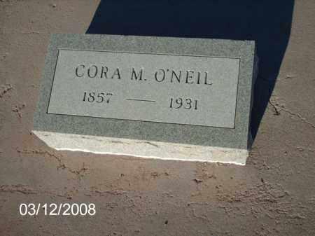 O'NEIL, CORA - Gila County, Arizona | CORA O'NEIL - Arizona Gravestone Photos