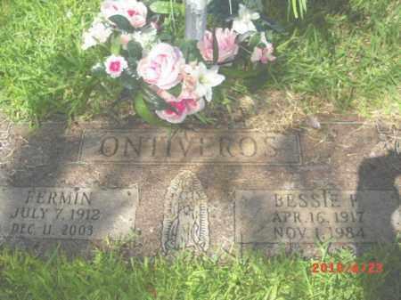 ONTIVEROS, BESSIE F. - Gila County, Arizona   BESSIE F. ONTIVEROS - Arizona Gravestone Photos