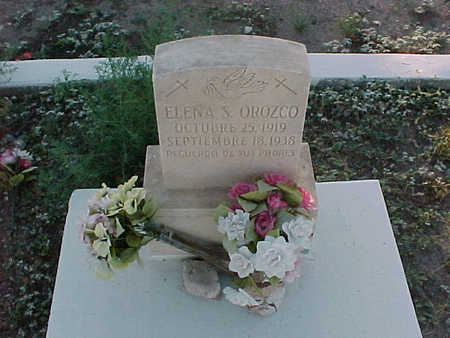 OROZCO, ELENA S. - Gila County, Arizona | ELENA S. OROZCO - Arizona Gravestone Photos
