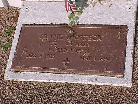 ORTEGA, FRANK  J. - Gila County, Arizona | FRANK  J. ORTEGA - Arizona Gravestone Photos