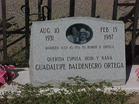 ORTEGA, GUADALUPE  BALDENERGO - Gila County, Arizona | GUADALUPE  BALDENERGO ORTEGA - Arizona Gravestone Photos