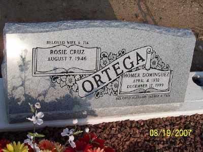 ORTEGA, ROSIE - Gila County, Arizona | ROSIE ORTEGA - Arizona Gravestone Photos