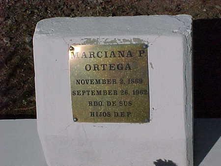 ORTEGA, MARCIANA  P. - Gila County, Arizona | MARCIANA  P. ORTEGA - Arizona Gravestone Photos