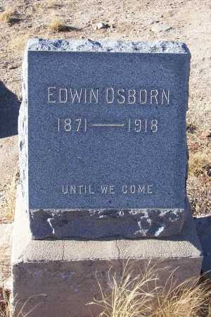 OSBORN, EDWIN - Gila County, Arizona | EDWIN OSBORN - Arizona Gravestone Photos