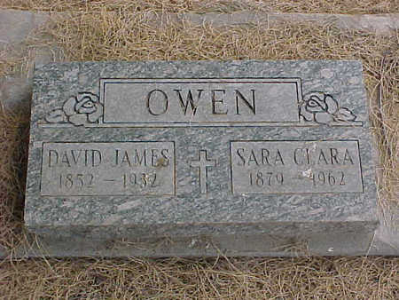OWEN, SARA CLARA - Gila County, Arizona | SARA CLARA OWEN - Arizona Gravestone Photos