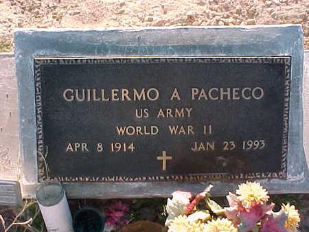 PACHECO, GUILLERMO  A. - Gila County, Arizona | GUILLERMO  A. PACHECO - Arizona Gravestone Photos