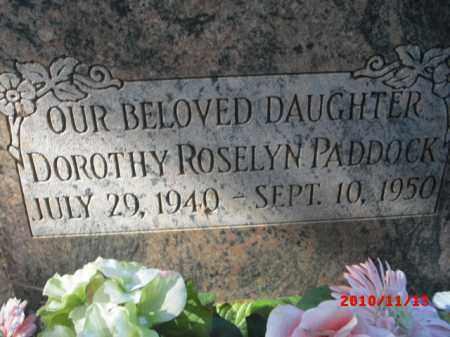 PADDOCK, DOROTHY - Gila County, Arizona | DOROTHY PADDOCK - Arizona Gravestone Photos