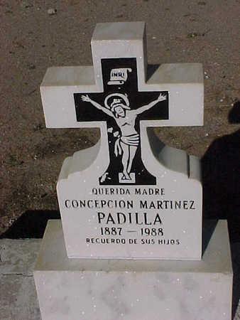 PADILLA, CONCEPCION  MARTINEZ - Gila County, Arizona | CONCEPCION  MARTINEZ PADILLA - Arizona Gravestone Photos