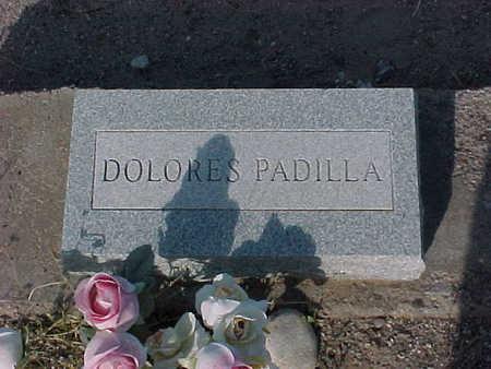 PADILLA, DOLORES - Gila County, Arizona   DOLORES PADILLA - Arizona Gravestone Photos