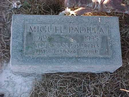 PADILLA, MIGUEL - Gila County, Arizona | MIGUEL PADILLA - Arizona Gravestone Photos