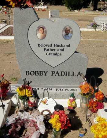 "PADILLA, ROBERT ""BOBBY"" M. - Gila County, Arizona | ROBERT ""BOBBY"" M. PADILLA - Arizona Gravestone Photos"