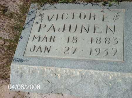 PAJUNEN, VICTORE - Gila County, Arizona | VICTORE PAJUNEN - Arizona Gravestone Photos